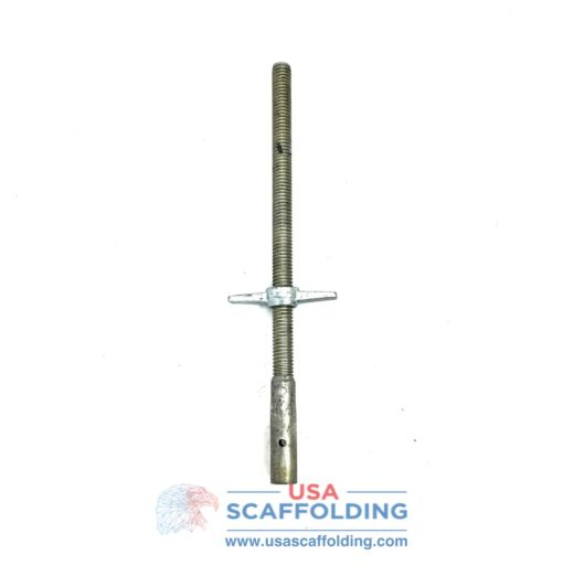 "1-3/8"" Socket Jack for Scaffolding Frames"