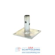 "Base Plate with 1-3/8"" Stem for Bil Jax Style Scaffolding"