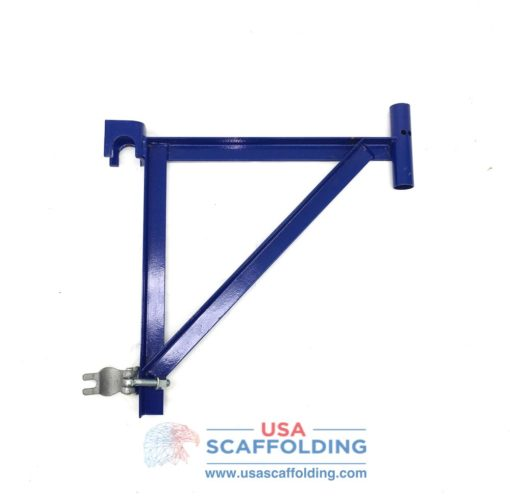"20"" Angle Iron End Bracket with Clamp