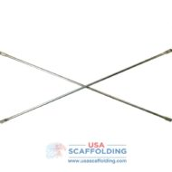 Tube Cross Brace for Scaffolding | USA Scaffolding