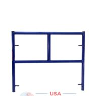 "42""X3' Single Ladder Scaffolding Frame - blue safeway style"