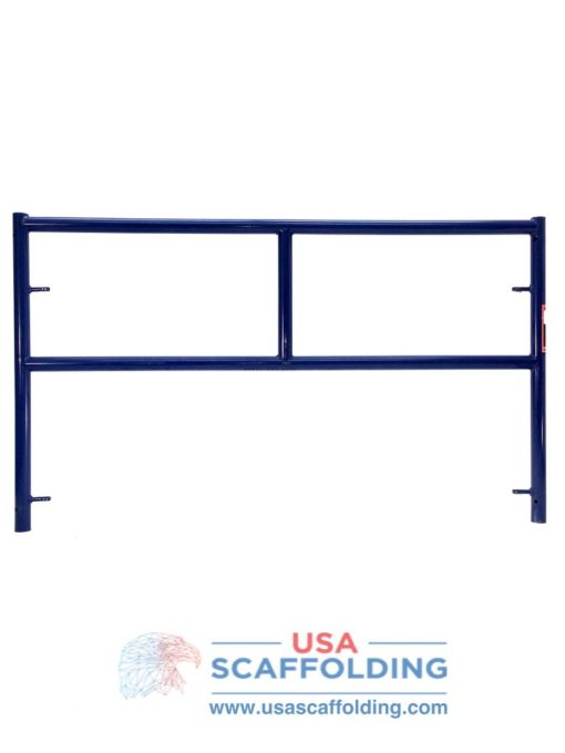 5'X3' Single Ladder Scaffolding Frame - blue safeway style