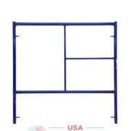5'X5' Single Ladder Scaffolding Frame - blue safeway style