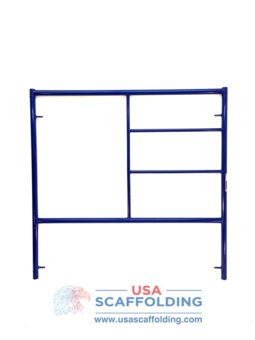 Double Ladder Scaffolding Frame - 5'X5' blue safeway style