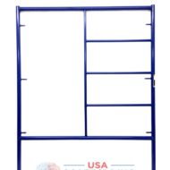 "5'X6'4"" Triple Ladder Scaffolding Frame"