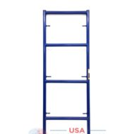"2'X6'4"" Single Ladder Scaffolding Frame - blue safeway style"
