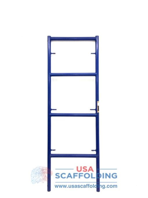 "2'X6'4"" Single Ladder Scaffolding Frame - blue safeway style"
