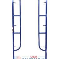 """Walk Thru Scaffolding Frames 3'X6'4"""" blue safweay style"""