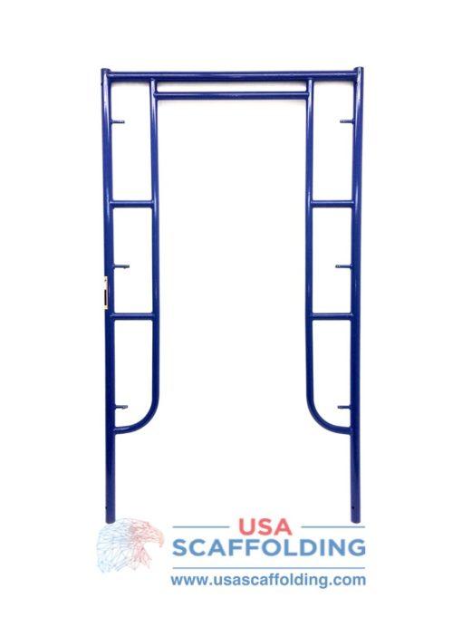 """Walk Thru Scaffolding Frame - 42""""x6'4"""" blue safeway style"""