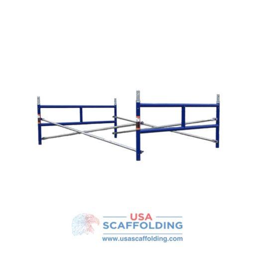 Set of Single Ladder Scaffolding Frames - 2'X5' blue safweway style