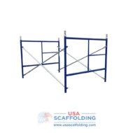 Set of Single Ladder Scaffolding Frames - 4'X5' blue safeway style