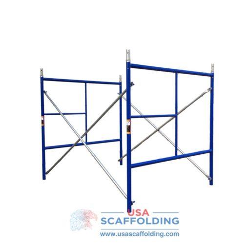 "5'X5"" single ladder set of scaffolding frames"