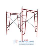 "Red Waco Style Walk Thru Frame Set (5'X6'7"")"
