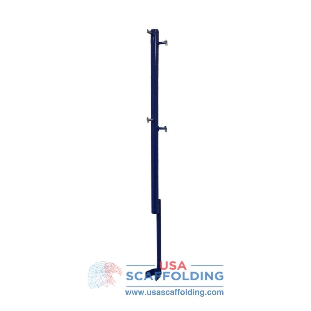 Guardrail Post with Kicker